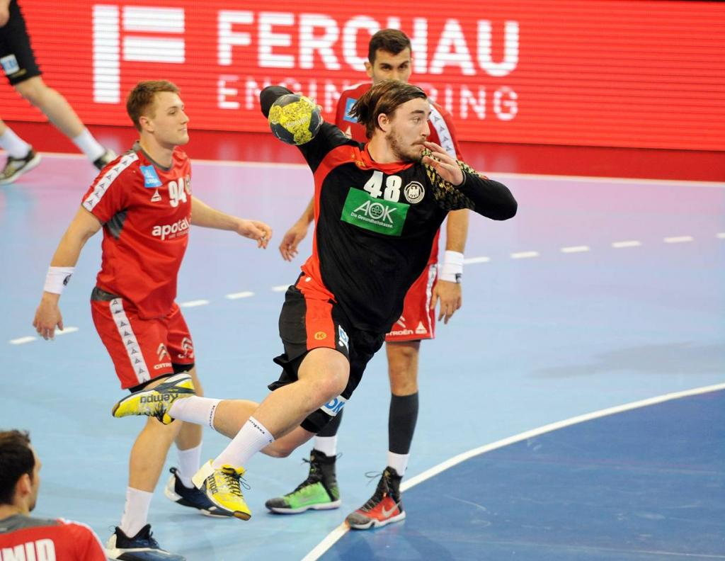 Jannik Kohlbacher Bad Boys Handball